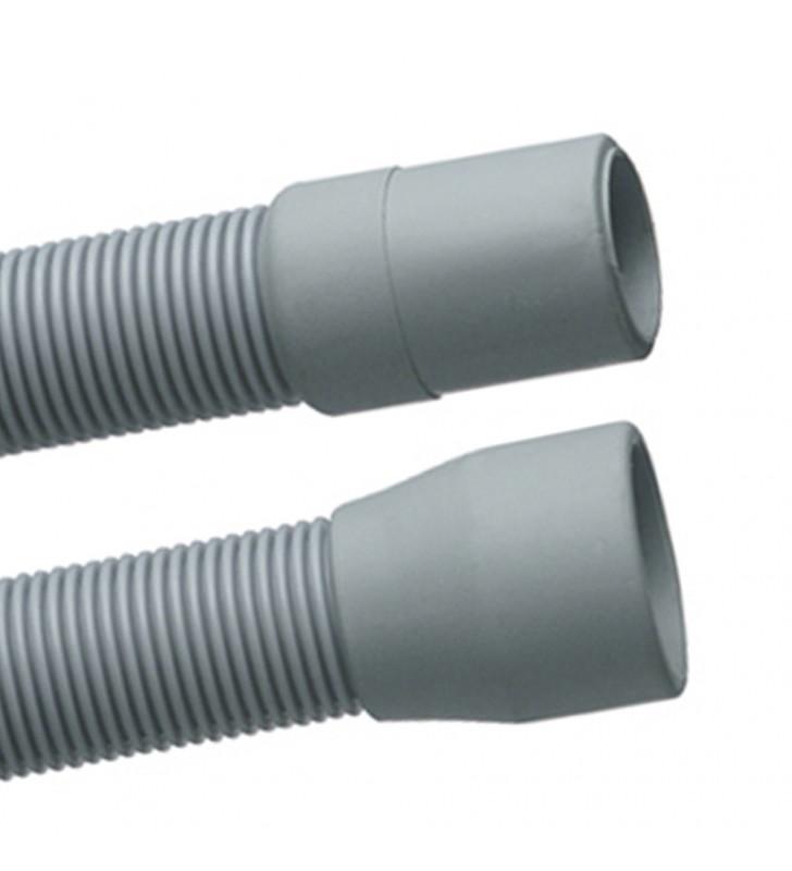 Tubo di scarico per lavatrice in plastica spiralato 400 cm RR 305B400