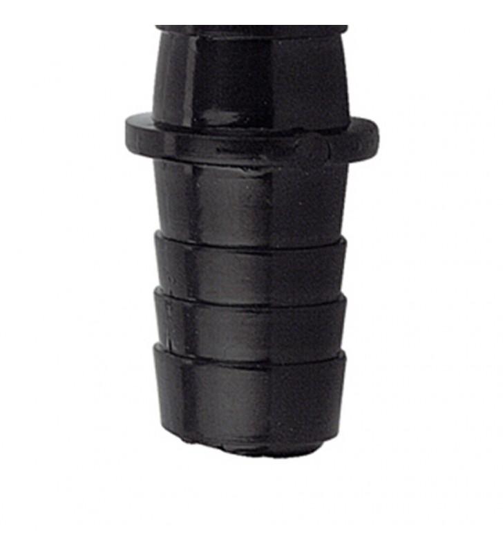 Giunto in nylon per tubi scarico diam. 17x17 RR 3081717