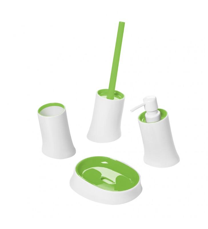 Set completo bianco verde - serie pisa Aquasanit SET34