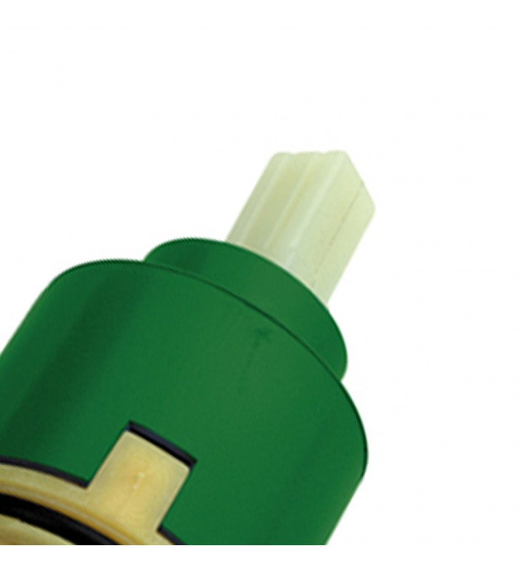 Cartuccia ad apertura forzata a dischi ceramici per vasca, lavabo, bidet RR S50AF