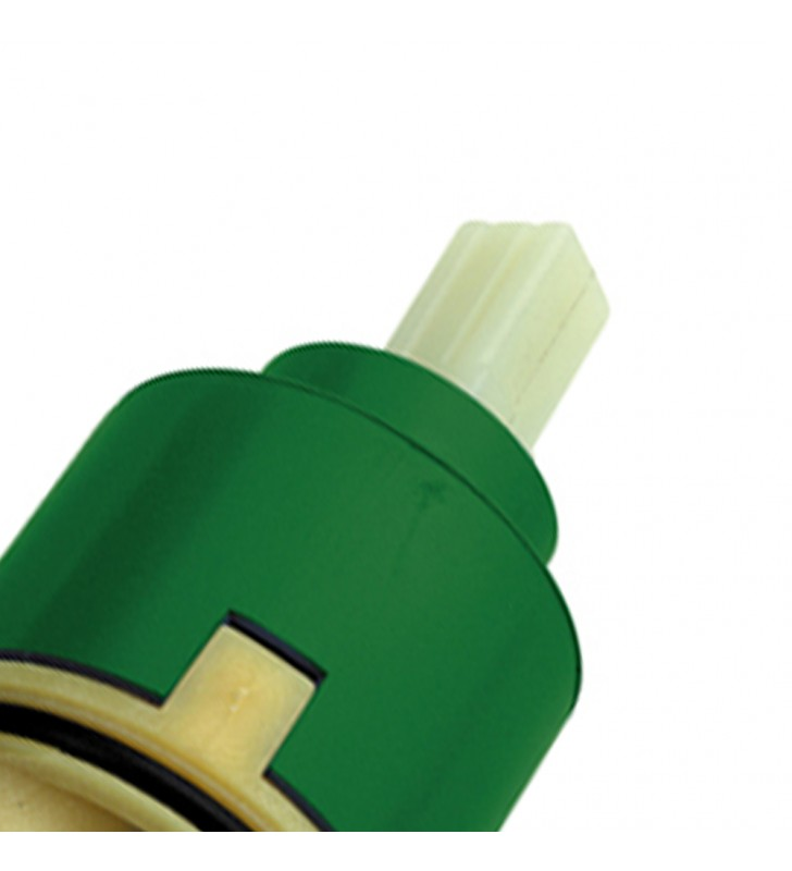 Cartuccia ad apertura forzata diam. mm 35 a dischi ceramici per vasca, lavabo, bidet RR R50AF