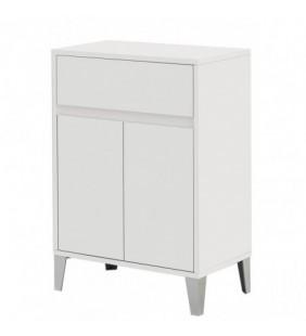 Mobiletto bianco con due ante soft close Linea Mondo Feridras 606008