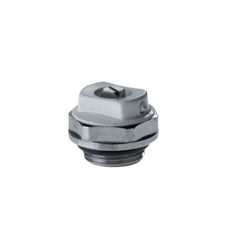 Valvolina orientabile sfogo aria manuale per radiatori 3/8 (MM10) Remer 43138