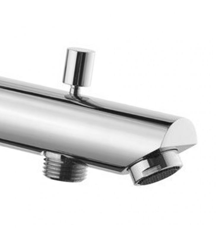 Bocca incasso per miscelatore vasca-doccia con deviatore serie minimal RR 91MD