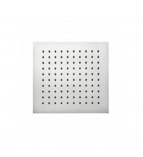 Soffione Bossini 30x30 cm acciaio inox cromato - Serie Tetis