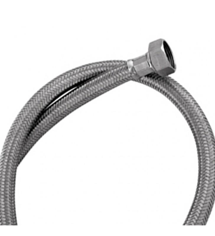 Tubo di carico in treccia di acciaio inox gigante per lavatrice 250 cm RR 293250