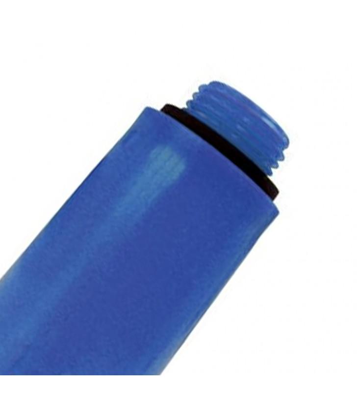 Tappo di collaudo impianti blu plastica Remer 140BLPP