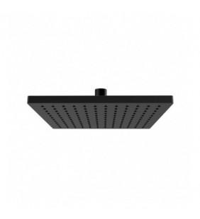 Soffione doccia quadrato 144 getti nero opaco in ottone Remer 359SSXNO