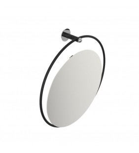 Specchio reclinabile serie giotto nero opaco senza luce Goman GIO-D0076/31