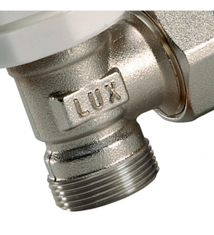 Valvola a squadra da 3/8 termostatizzata per tubo rame/multistrato Idrobric SACVAL0064VA