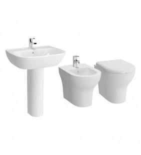 Set sanitari a terra con lavabo - Serie Zentrum