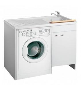 Coprilavatrice classica 109x60 destro per zona lavanderia Negrari 3008DX