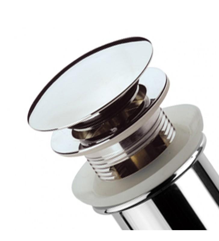 Piletta 1 1/4 con sistema click clack color bronzo Remer 905CC114VO