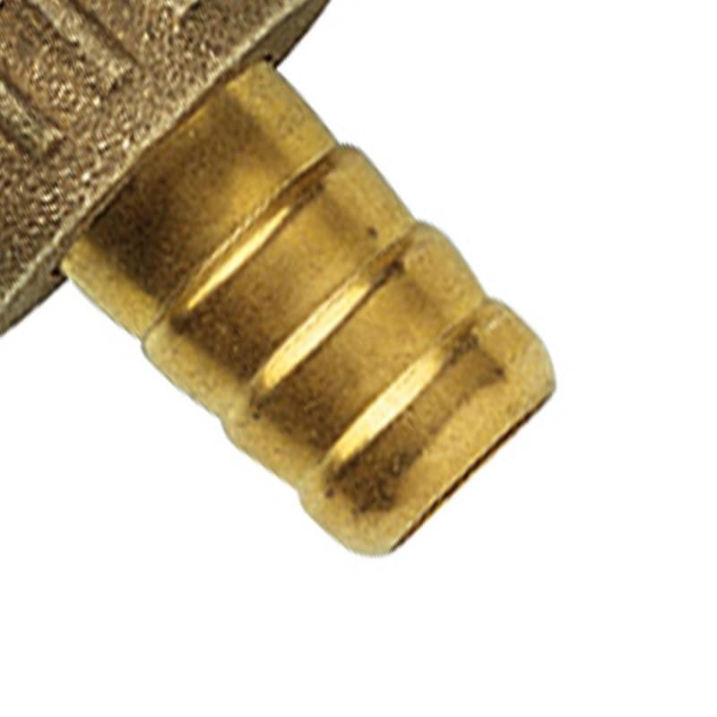 Raccordo portagomma 1/2 - ottone Remer 20912