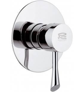 Miscelatore doccia da incasso con piastra - serie jazz Remer J30L