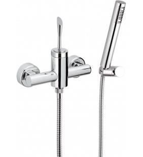 Miscelatore esterno doccia con doccino - serie jazz Remer J39