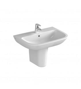 Lavabo da 60 cm con semicolonna in ceramica - Serie S20 Vitra SFUCER0693LA-SFUCER0695SC