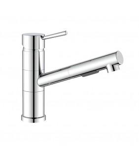 Miscelatore lavello con doccia estraibile - Serie Kansas Idrobric SCARUB1043CR