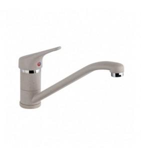 Miscelatore lavello granito avena con canna bassa Paini - Serie Mentone Paini 323302