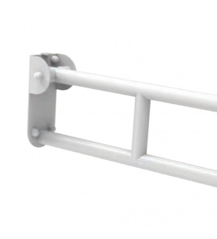 Maniglione barra ribaltabile con piastra lunga e porta rotolo cm 70 Goman ZB71/01