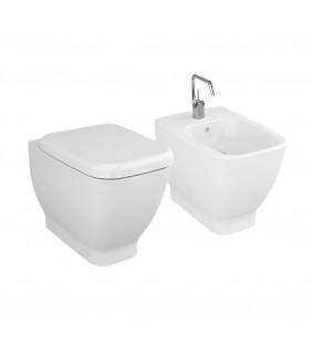 Set vaso wc e bidet filo muro - Serie Shift Vitra setwcbidetShift