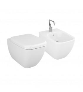 Set vaso wc e bidet sospesi - Serie Shift Vitra setwcbidetShiftsosp