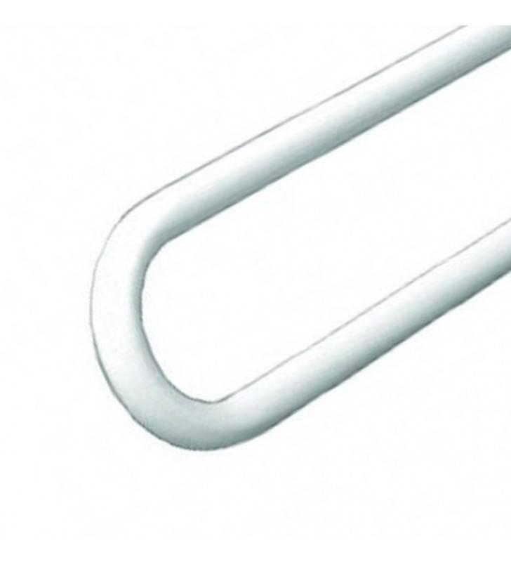 Maniglione barra ribaltabile cm 83 con frizione bianca Goman ZB83/01
