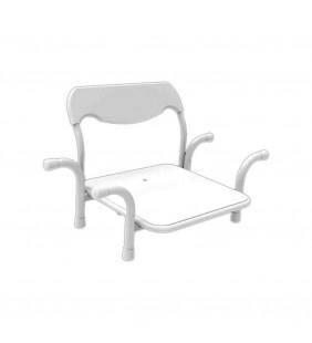 Sedile inox per vasca standard nylon