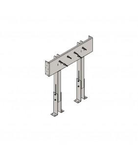 Staffa per supporto seggiolino x811 per pareti cartongesso