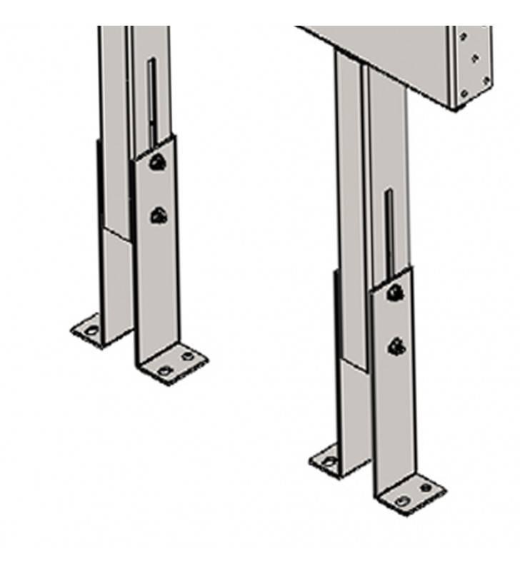 Staffa per supporto seggiolino x811 per pareti cartongesso Goman STF18/01