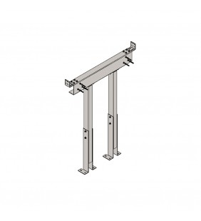 Supporto seggiolino doccia x810 01 per pareti in cartongesso Goman STF19/01