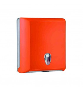 Dispenser carta asciugamani arancio
