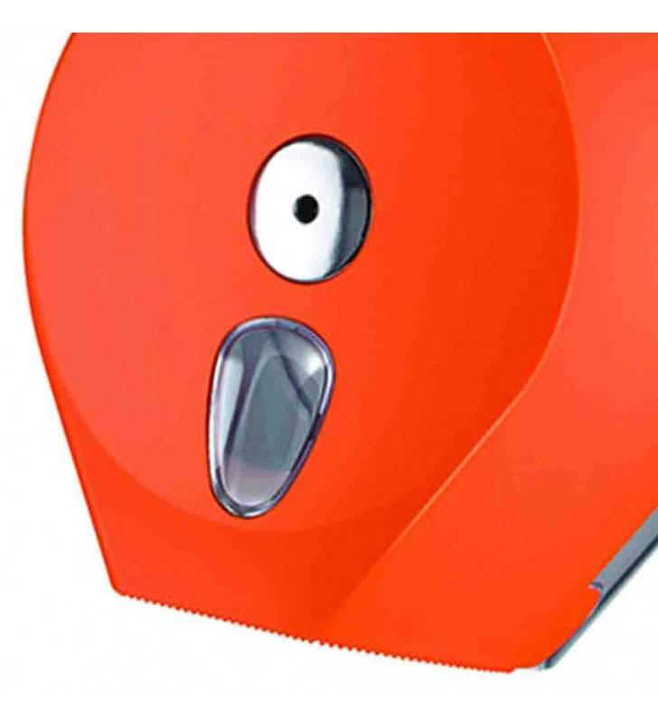 Porta carta igienica rotolone arancio Goman LEO-B253/65