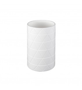 Bicchiere serie bridge bianco Aquasanit QF3100WW