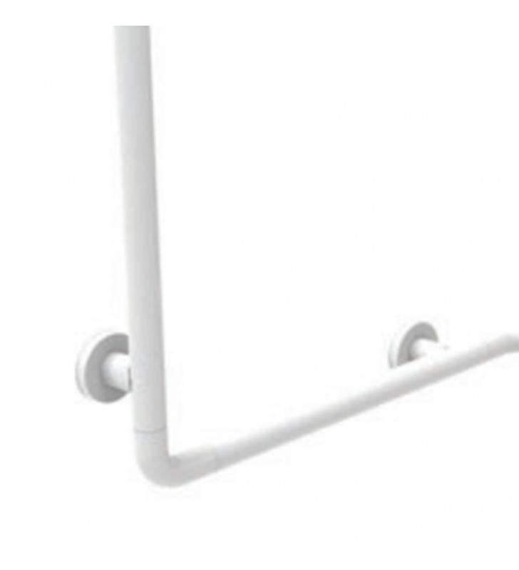 Angolare di sicurezza sx-dx 70x70x80h alluminio bianco Goman AN-A05/01