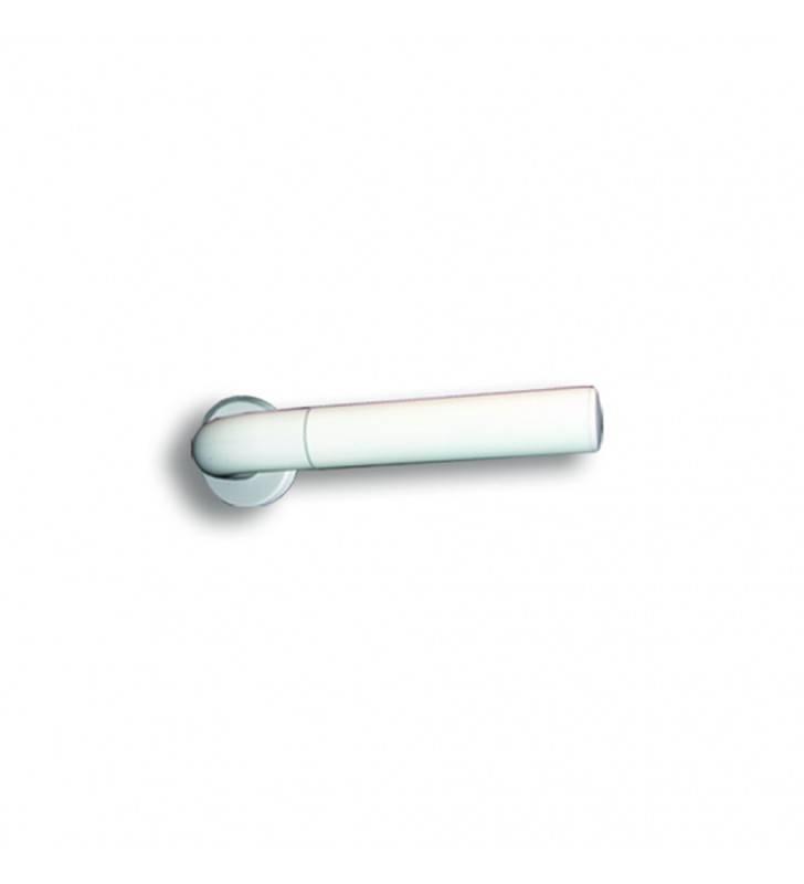Portarotolo singolo in alluminio bianco Goman AN-B112/01