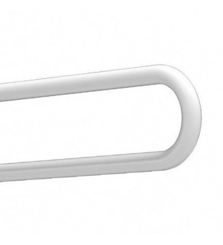 Maniglione ribaltabile cm.62 removibile bianco Goman E-ZB12/01