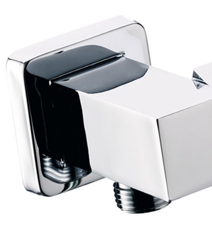 Presa acqua e supporto snodato lusso quadrato Remer 337S