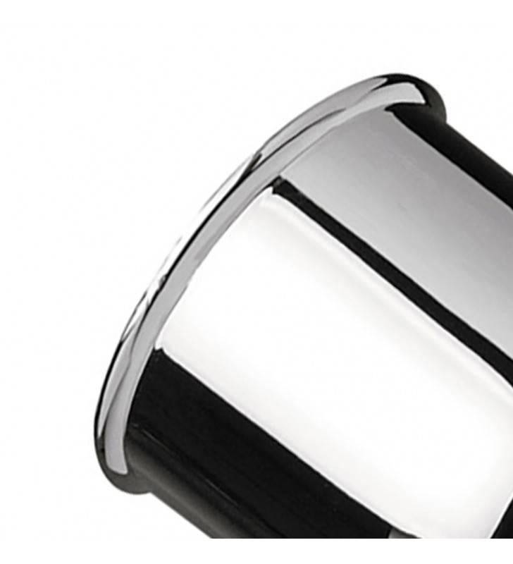 Supporto lux in ottone cromato Remer 339SO