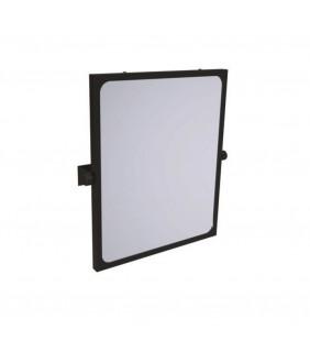 Specchio reclinabile serie leonardo 46x56 cm nero opaco Goman LEO-D0020/08