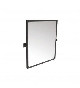 Specchio reclinabile serie leonardo 60x70 cm nero opaco Goman LEO-D0025/08