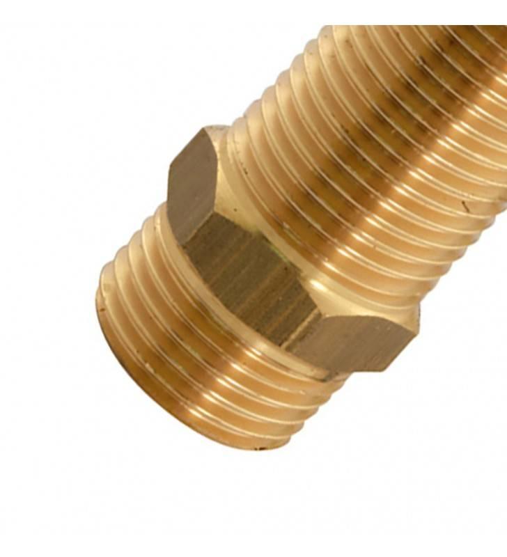 Vite doppia prolungata ottone giallo 1/3 50 mm RR 521OG12L