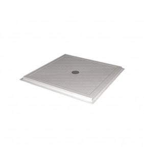 Piatto doccia 80x80 cm completo di piletta Goman D0141/01