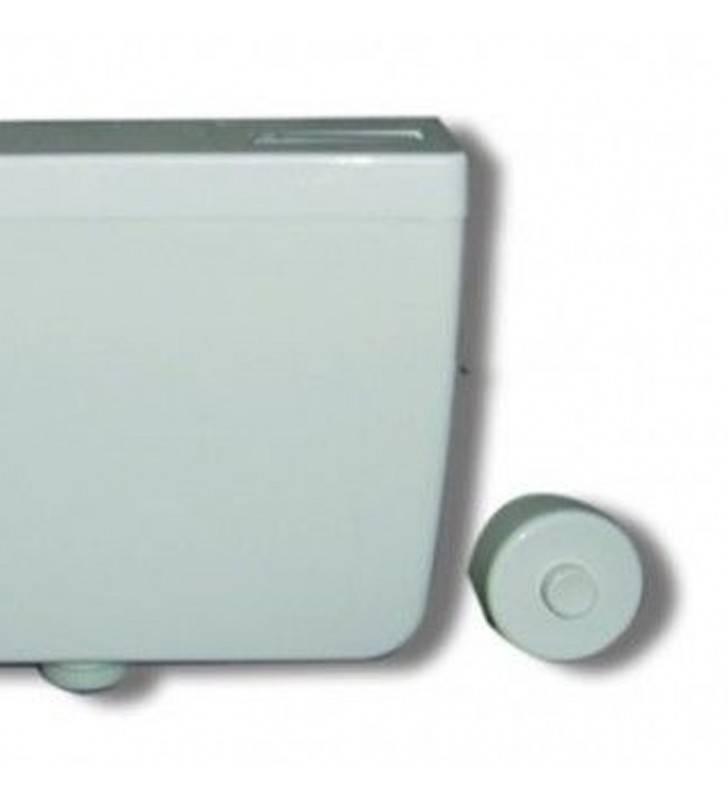 Cassetta di scarico a zaino 7 lt con comando esterno Goman D0115E/01