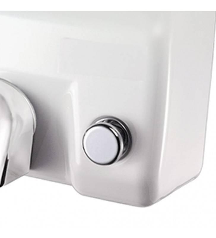 Asciugamani elettrico con pulsante bianco Goman D0ABP/01