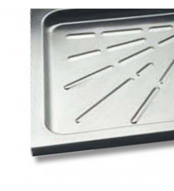 Piatto doccia inox 80x80 Goman DX301S/99