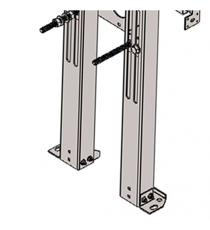 Supporto universale x wc bidet sospesi per interasse cm 60 Goman STF02/01