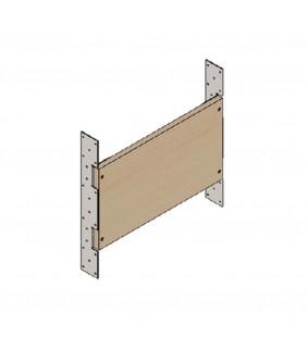 Tavola in multistrato h30 cm interasse 60 cm
