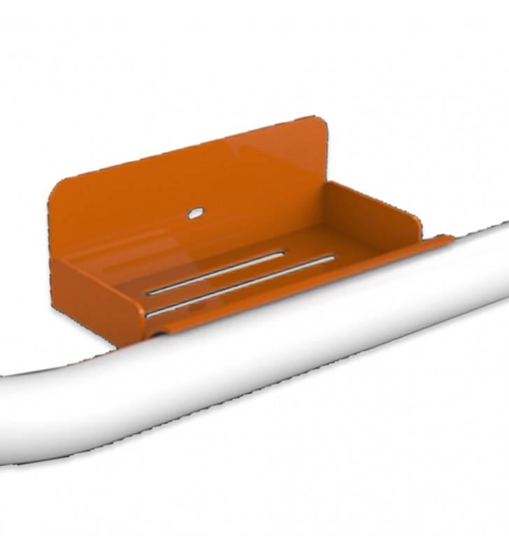 Porta sapone arancione per maniglie Goman Goman LEO-B189/65