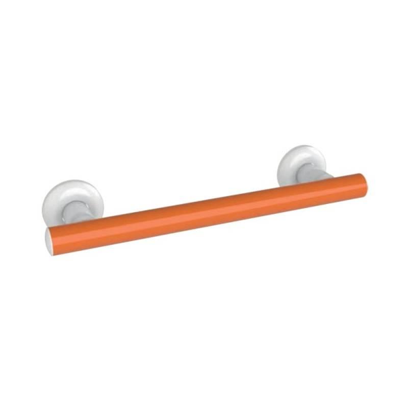 Maniglia per bagni anziani e disabili cm 40 arancio Goman LEO-M40/65